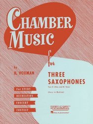 Chamber Music for Three Saxophones (AAT) / tria pro saxofon