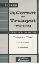 TRUMPETERS THREE trumpet trios with piano acc. / tři trumpety + klavír