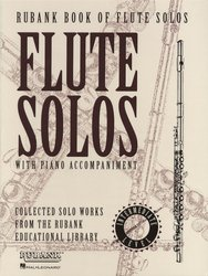 RUBANK Flute Solos with Piano Accompaniment– Intermediate Level / flétna + klavír