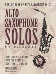 RUBANK Alto Saxophone Solos with Piano Accompaniment– Intermediate Level /altový saxofon