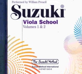 Suzuki Viola School  1 a 2 - CD