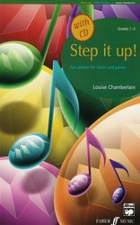 STEP IT UP ! + CD / housle a piano