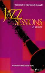FABER MUSIC JAZZ SESSIONS + CD   klarinet