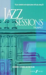 FABER MUSIC JAZZ SESSIONS + CD   trumpeta
