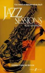 FABER MUSIC JAZZ SESSIONS + CD   altový saxofon