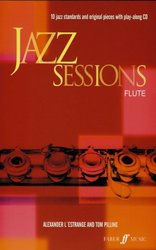 FABER MUSIC JAZZ SESSIONS + CD   příčná flétna