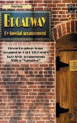 Warner Bros. Publications BROADWAY - JAZZ ARRANGEMENTS + CD / příčná flétna