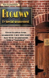 Warner Bros. Publications BROADWAY - JAZZ ARRANGEMENTS / klavírní doprovod