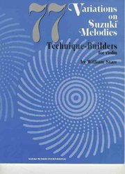String Letter Publishing SUZUKI MELODIES  77 VARIATIONS ON