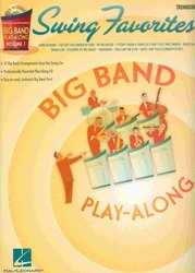 BIG BAND PLAY-ALONG 1 - SWING FAVORITES + CD / trombon (pozoun)