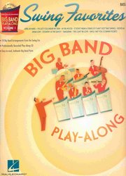 BIG BAND PLAY-ALONG 1 - SWING FAVORITES + CD / basová kytara