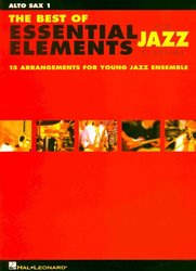 Hal Leonard Corporation ESSENTIAL ELEMENTS FOR JAZZ ENSEMBLE (grade1-2)    parts