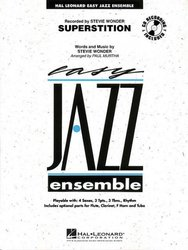 SUPERSTITION + CD easy jazz band / partitura + party