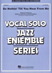 Hal Leonard Corporation Do Nothin' Till You Hear From Me - Vocal Solo with Jazz Ensemble - partitura + party