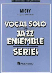 Hal Leonard Corporation MISTY - Vocal Solo with Jazz Ensemble / partitura + party
