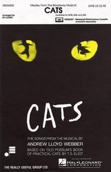 CATS (Medley From The Broadway Musical) / SATB + piano/chords