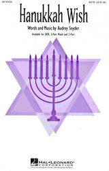 Hal Leonard Corporation HANUKKAH WISH  /  SATB*