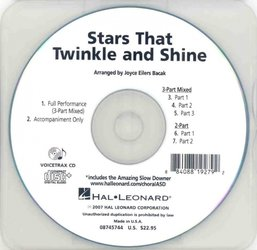 Stars That Twinkle and Shine - VoiceTrax CD - hudební doprovod