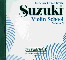 Suzuki Violin School CD 5