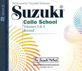 Suzuki Cello School CD, Volume 3 & 4
