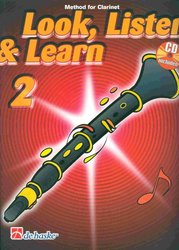 Hal Leonard MGB Distribution LOOK, LISTEN&LEARN 2 + CD   method for clarinet