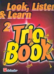 LOOK, LISTEN & LEARN 2 - TRIO BOOK trombone / pozoun