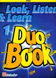 LOOK, LISTEN & LEARN 1 - Duo Book for Flute