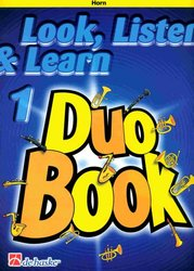LOOK, LISTEN & LEARN 1 - Duo Book for Horn / lesní roh