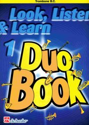 LOOK, LISTEN & LEARN 1 - Duo Book for Trombone / pozoun