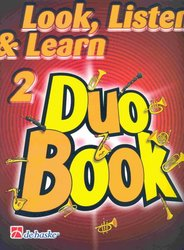 LOOK, LISTEN & LEARN 2 - DUO BOOK  tenor sax / tenorový saxofon