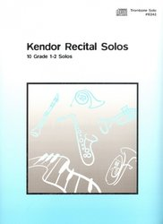 Kendor Recital Solos for Trombone + CD / solo book