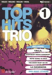 TOP HITS TRIO 1 / 14 hitů pro 3 housle