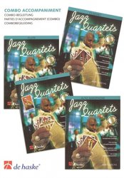 JAZZ QUARTETS - Combo Accompaniment (parts for piano, guitar, bass, drums)