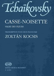 EDITIO MUSICA BUDAPEST Music P Casse-Noisette (Valse Des Fleurs) by Tchaikovsky           two pianos