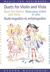 Duets for Violin and Viola / Dueta pro housle a violu