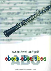 ABC OBOE exercises & childrens songs book for beginers / hoboj