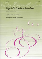 Kendor Music, Inc. FLIGHT OF THE BUMBLE-BEE (Letčmeláka) / flute trio
