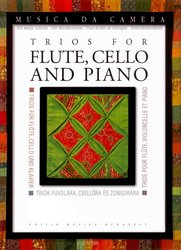 TRIOS FOR FLUTE, CELLO & PIANO / partitura + party