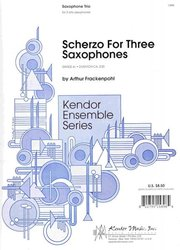 Scherzo For Three Saxophones -  alto sax trio