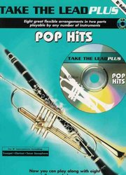 TAKE THE LEAD PLUS POP HITS Bb instrument + CD
