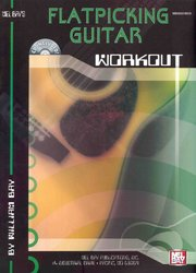 Flatpicking Guitar Workout + CD / kytara + tabulatura