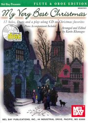My Very Best Christmas + CD      C instruments & piano  (17 solos or duets)