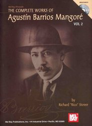 The Complete Works of Agustin Barrios Mangore 2 + CD / kytara