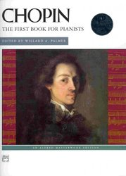 ALFRED PUBLISHING CO.,INC. CHOPIN + CD   the first book for pianists