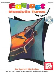EASIEST MANDOLIN TUNES FOR CHILDREN + CD / mandolína + tabulatura