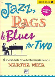 JAZZ, RAGS & BLUES FOR TWO 1 - 1 piano 4 hands / 1 klavír 4 ruce
