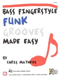 BASS FINGERSTYLE - FUNK GROOVES Made Easy + Audio Online