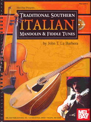 Traditional Southern ITALIAN Mandolin & Fiddle Tunes + CD / mandolína + tabulatura