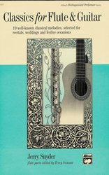 ALFRED PUBLISHING CO.,INC. CLASSICS FOR FLUTE&GUITAR