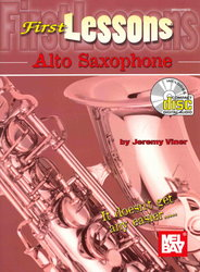 FIRST LESSONS - ALTO SAXOPHONE + CD